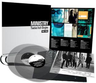 Ministry twelve Inch Singles Box Set