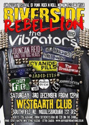 Riverside Rebellion, Middlesbrough 2016