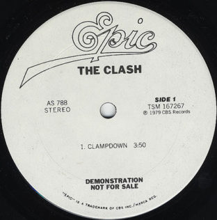 The clach clampdown usa promo 10""