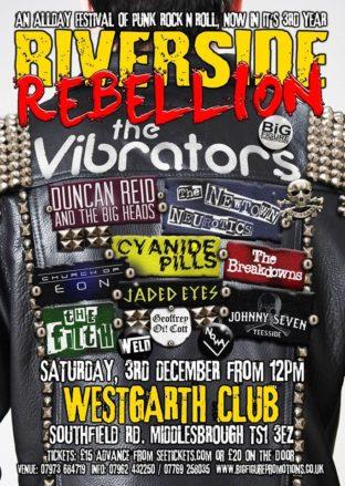 Riverside Rebellion 3rd December 2016