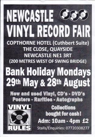 Newcastle bank holiday record fairs