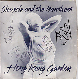 Siouxsie and the banshees - hong kong garden signed