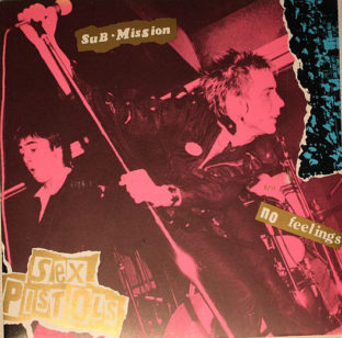 Sex pistols - submission colour vinyl