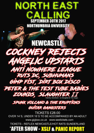 North East Calling 30th Sept 2017
