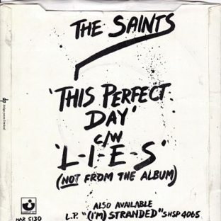 Saints - This perfect Day UK Promo