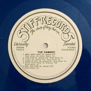 Damned Dammned Damned Belgian blue vinyl