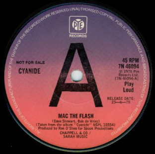 Cyanide Mac The Flash promo