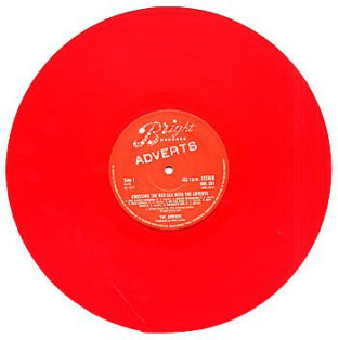 Adverts Crossing The Red Sea red vinyl