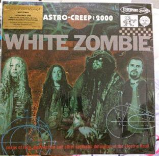 white zombie astro crepp 2000 colour vinyl
