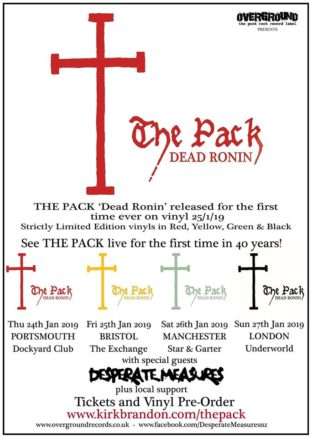 The Pack live dates