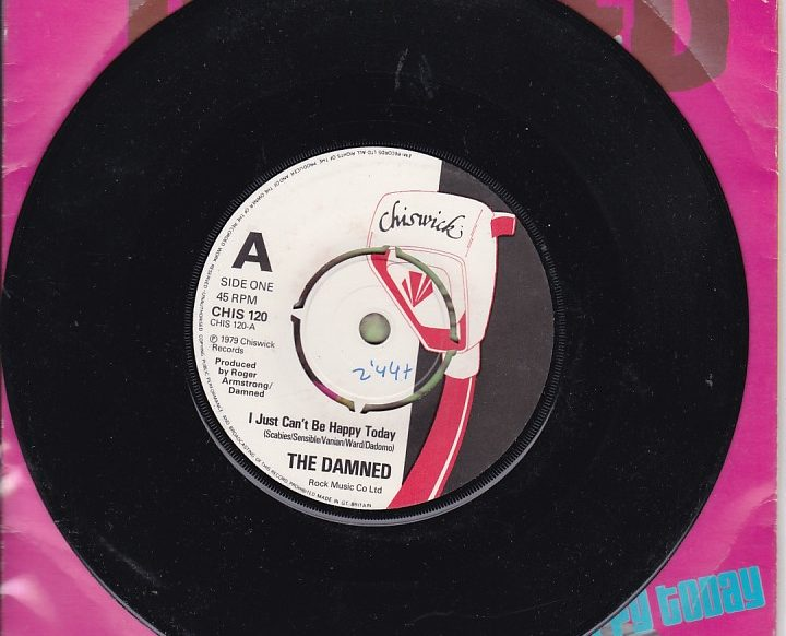 The Damned - I Just can't Be Happy Today promo