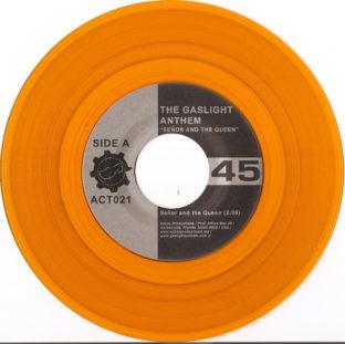 Gaslight Anthem the Senor & The Queen gold vinyl