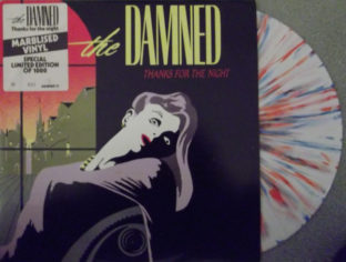 Damned thank for the night multi colour vinyl