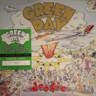 Green Day Dookie green vinyl