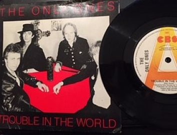 Only Ones Trouble In The World withdrawn sleeve
