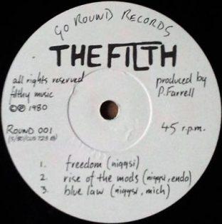 """Discharge + Filth split 7"""""""