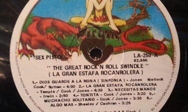 Sex Pistols Never Mimd the Bollocks Mexican