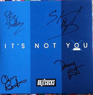 buzzcocks it's not you signed