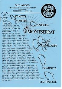 Outlandos Fan Club Newsletter June 1981
