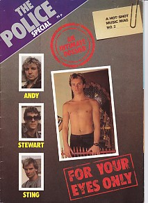 The Police Special - A Hot Shot Music Mag No. 2