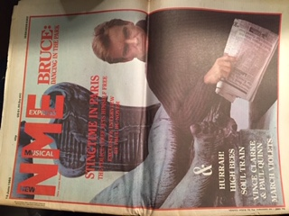 Front Cover NME 15/6/85