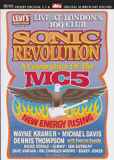 Sonic Revolution: A Celebration Of The MC5 DVD