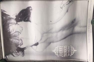 JOHNNY THUNDERS, Que Sera, Sera Poster