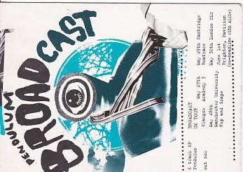 BROADCAST, Penoulum Promo Postcard