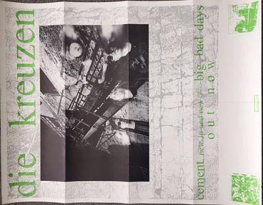 DIE KREUZEN, Cement Promo Poster