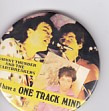 JOHNNY THUNDERS AND THE HEARTBREAKERS, I Have A One Track Mind Badge