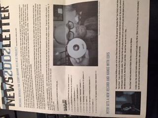 R.E.M., 2002 Remix Project Newsletter