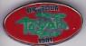 TOYAH, UK Tour 1981 Badge