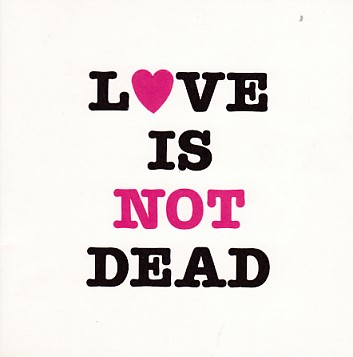 GODFATHERS, Love Is Dead Promo Valentine's Card