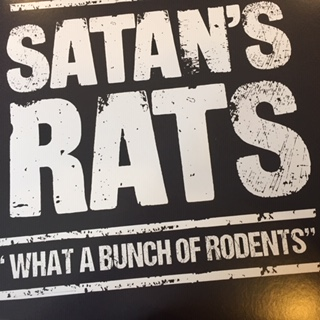SATAN'S RATS, What A Bunch Of Rodents
