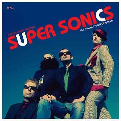 VARIOUS, Martin Green Presents: Super Sonics – 40 Junkshop Britpop Greats