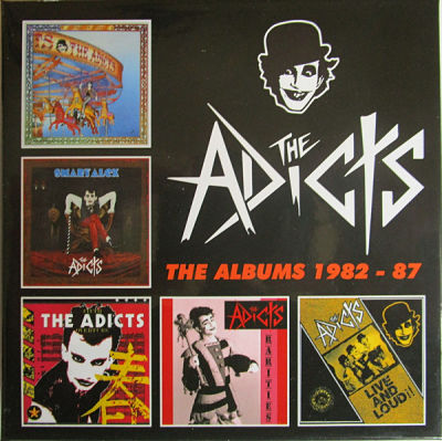 ADICTS, The Albums 1982 - 1987