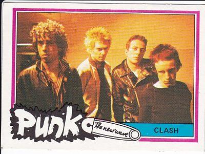CLASH, 1977 Bubblegum Card