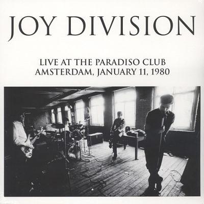 JOY DIVISION, Live At The Paradiso Club Amsterdam, January 11, 1980