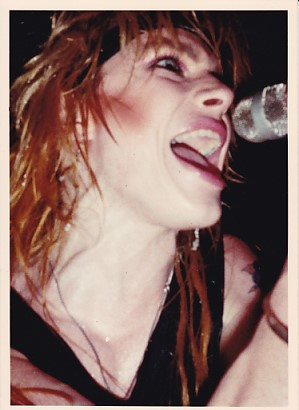 HANOI ROCKS, Marquee 1983 - Michael Monroe Close-Up Photo