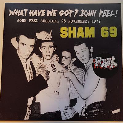 SHAM 69, What Have We Got? John Peel!