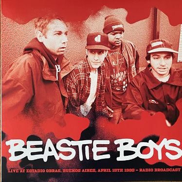 BEASTIE BOYS, Live At Estadio Obras, Buenos Aires, April 15th 1995 - Radio Broadcast