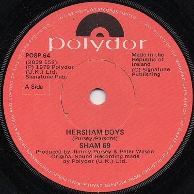 SHAM 69, Hersham Boys