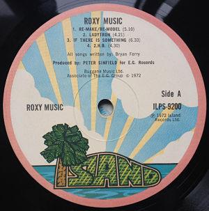 ROXY MUSIC, Roxy Music
