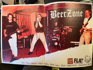 BEERZONE, They Came, They Saw, They Conquered Poster