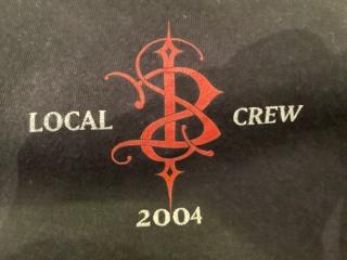 SKINNY PUPPY, Local Crew 2004 T-Sshirt