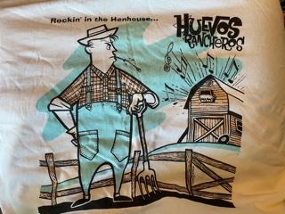 HUEVOS RANCHEROS, Rockin' In The Henhouse T-Shirt