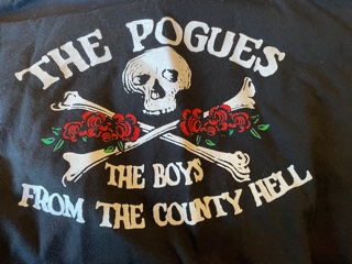 POGUES, 2006 USA Tour T-Shirt