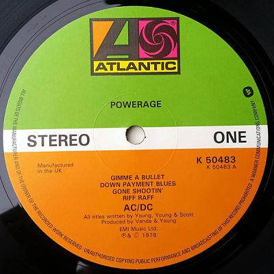 AC/DC, Powerage