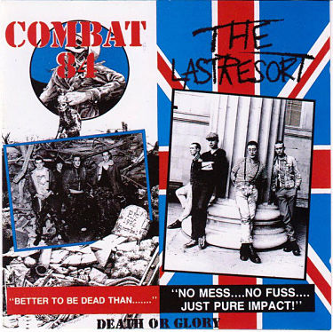 COMBAT 84 / LAST RESORT, Death Or Glory / Charge Of The 7th Cavalry