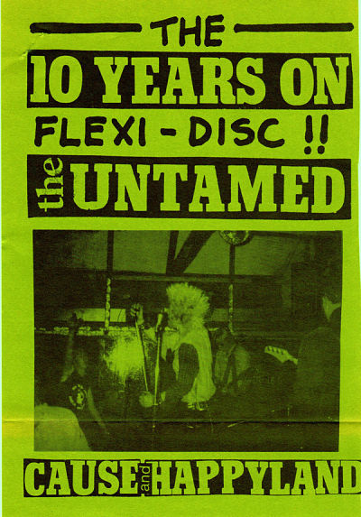 UNTAMED, The 10 Years On Flexi - Disc!!
